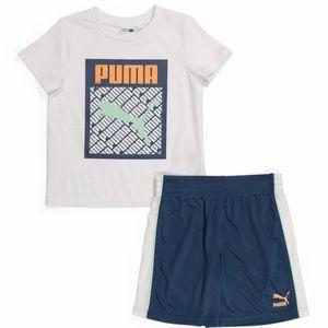 Puma cute stylish boy shorts set